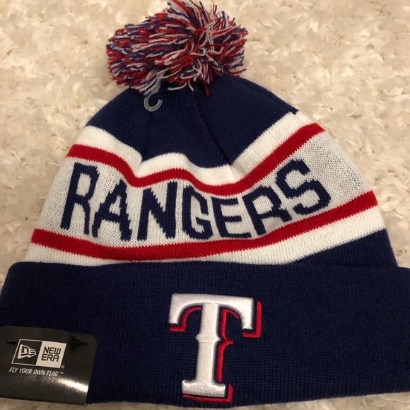 super popular 96ad7 7db47 Texas Rangers New Era MLB Winter Knit Hat Beanie